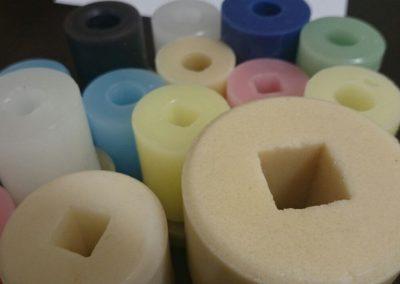 rodillos de parafina textil